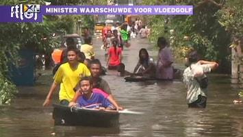 RTL Nieuws Water Bangkok rukt op