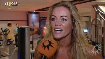 RTL Boulevard Inge de Bruijn weer aan het trainen