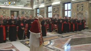 RTL Nieuws Paus Benedictus XVI treedt af