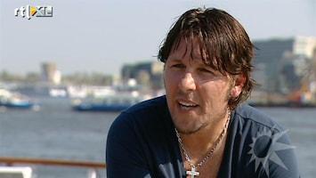 RTL Boulevard Jan Dulles bekijkt cruiseschip