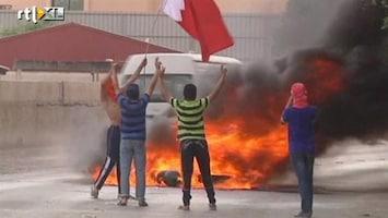 RTL Nieuws Protest in Bahrein (ruwe beelden)