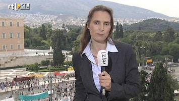 RTL Nieuws Bezuinigingen Griekenland heet hangijzer
