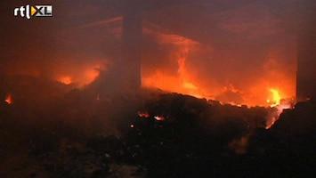 RTL Nieuws Honderd doden bij brand kledingfabriek Bangladesh