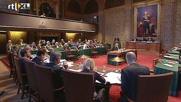 RTL Nieuws Kabinet-Rutte II krijgt het zwaar in Eerste Kamer