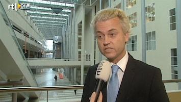 RTL Nieuws Geert Wilders: 'Wij zijn geen cijferfetisjisten'
