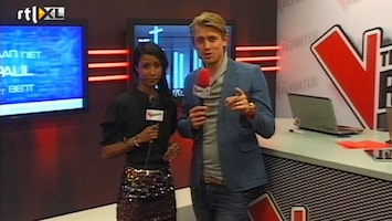 The Voice Of Holland: The Results The V Reporter Backstage 5