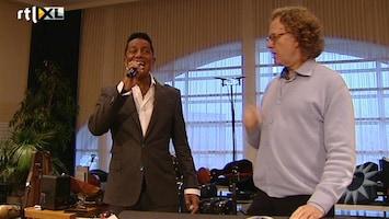 RTL Boulevard Andre Rieu en Jermaine Jackson over hun samenwerking