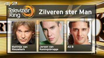RTL Boulevard Genomineerden Zilveren Televizier-Ster Mannen