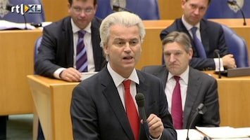 RTL Nieuws Harde confrontatie Rutte versus Wilders