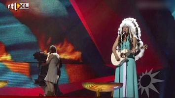RTL Boulevard De jurk van Joan Franka