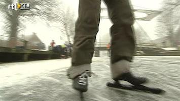 RTL Nieuws Toerschaatsers er vroeg bij in Overijssel
