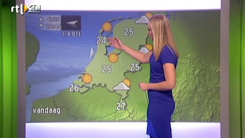 RTL Weer Buienradar Update 23 augustus 2013 10:00 uur