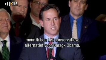 RTL Nieuws Rick Santorum slaat terug