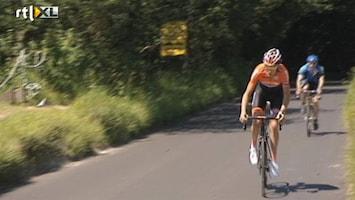RTL Nieuws Marcel Maijer blikt vooruit op wielerwedstrijd