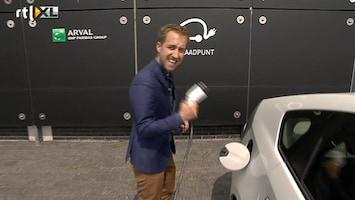 RTL Nieuws Hybride lease-auto's rijden vooral op... benzine