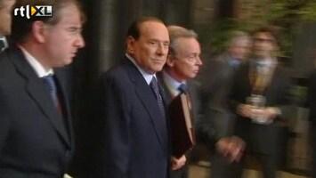RTL Nieuws Erop of eronder voor premier Berlusconi