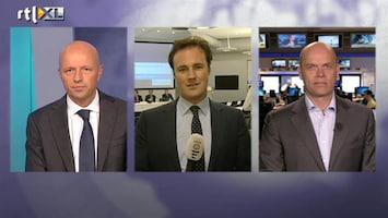 RTL Nieuws Economie krimpt: commentaar van Bart Reijnen en Matthijs Bouman