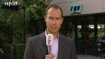 RTL Nieuws Opnieuw crisisberaad bij de FNV