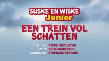 Suske En Wiske Junior - Een Trein Vol Schatten