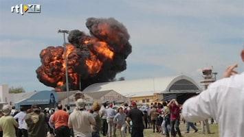 RTL Nieuws Grote crash tijdens Spaanse vliegshow
