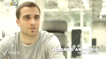 RTL GP: Formule 1 Interview Jerome d'Ambrosio
