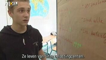RTL Nieuws 2003: Anti-neonazi onderwijs op middelbare scholen