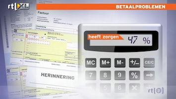 RTL Nieuws Bijna 15 procent heeft betaalproblemen