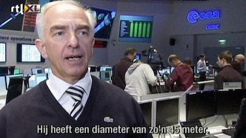 RTL Nieuws Asteroïde DA14 scheert langs aarde