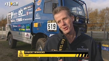 RTL GP: Dakar Pre-proloog Interview Egbert Wingens