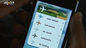 RTL Nieuws Met een app van je vliegangst af