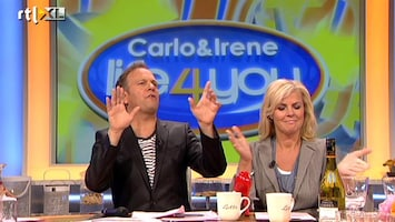 Carlo & Irene: Life 4 You Mannen in de zaal?