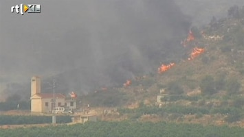 RTL Nieuws Bosbranden teisteren Spanje