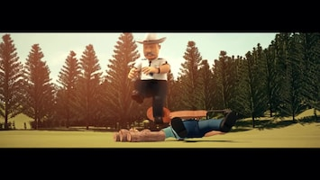 Brandweerman Sam Piekepolder cowboys