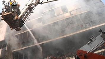 RTL Nieuws Weer brand in kledingfabriek Bangladesh
