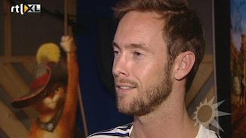 RTL Boulevard Charly Luske spreekt Puss in Boots in