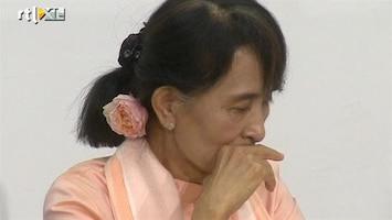 RTL Nieuws Aung San Suu Kyi onwel geworden in Zwitserland