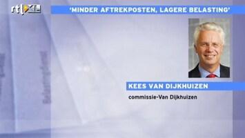 RTL Nieuws Van Dijkhuizen: veel extra banen en huizenmarkt van het slot