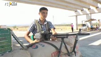 RTL Nieuws Syrische rebellen schieten voor het eerst met tanks