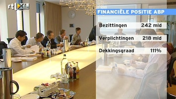 RTL Z Nieuws ABP: 242 miljard euro bezit en 214 miljard euro verplichtigen