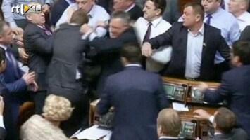 Editie NL Knokpartij politici in Oekraïne