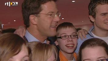 RTL Nieuws Rutte bezoekt congres SGP-jeugd