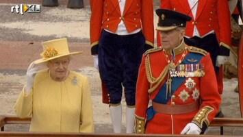 RTL Nieuws Herstelde Prins Philip bij verjaardag Elizabeth