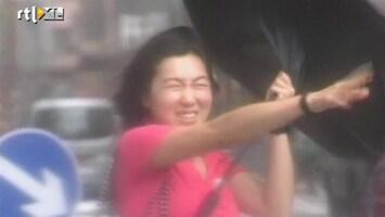 RTL Nieuws Hong Kong getroffen door typhoon