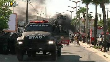 RTL Nieuws Weer mis tussen politie en betogers in Brazilië