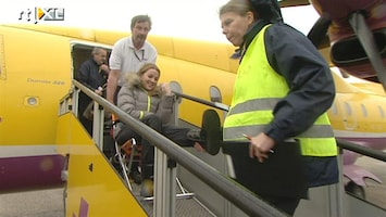 RTL Nieuws Eerste elf brekebenen terug van wintersport