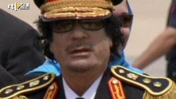 RTL Nieuws Khadaffi: de kolonel van Libië
