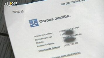 RTL Nieuws Duizenden mensen ontvangen neppe incassobrief