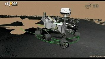 RTL Nieuws Curiosity maakt proefritje op Mars