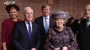 RTL Nieuws Beatrix eert Tjeenk Willink bij afscheid