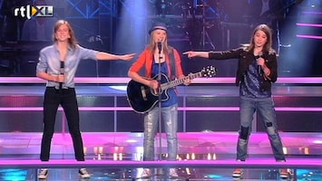 The Voice Kids Jeske VS Paddy VS Laura - Man, I Feel Like A Woman